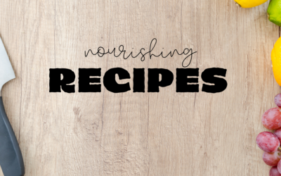 10 Nourishing Recipes to try at Home