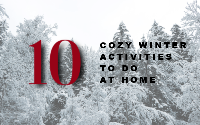 10 Cozy Winter Activities to do at Home